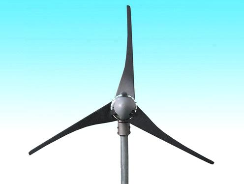 Wind turbine blade and blades of propellers