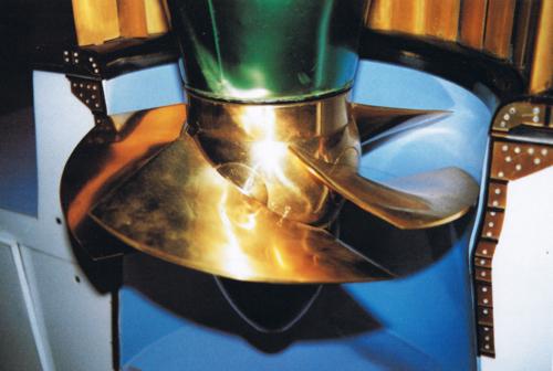 hydropower turbine propeller or Kaplan