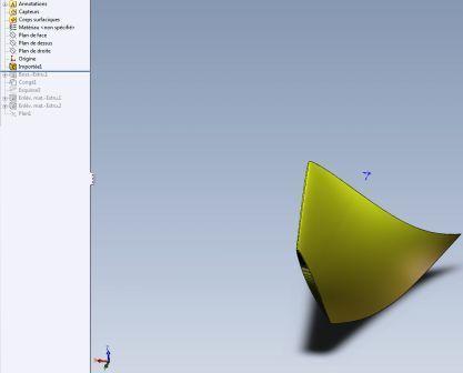 modeling wind turbine blade propellers and wings in 3D